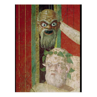 The Head of the Elderly Silenus Postcard