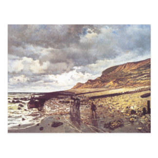 The Headland of the Heve at Low Tide Postcard