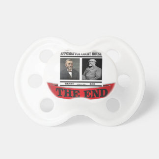 the headline end of civil war baby pacifiers