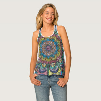 The Heads of Knowledge Tank Top