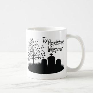 The Headstone Whisperer Coffee Mug