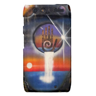 The Healing Hand of the Universe Motorola Droid RAZR Case