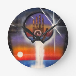 The Healing Hand of the Universe Clocks