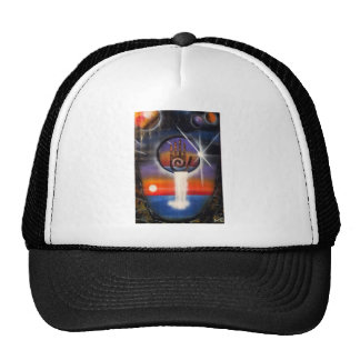 The Healing Hand of the Universe Trucker Hat
