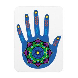The Healing Hand Rectangular Photo Magnet