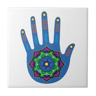 The Healing Hand Ceramic Tiles