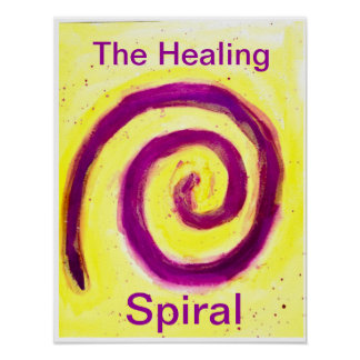 The Healing Spiral Poster