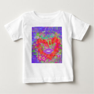 The heart also speaks of love baby T-Shirt