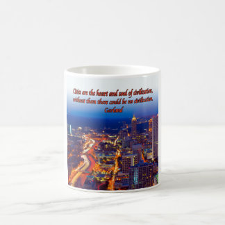The Heart And Soul Of Cities Coffee Mug
