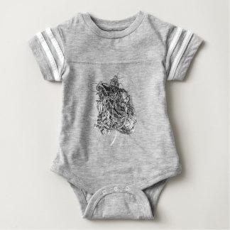 The Heart Baby Bodysuit