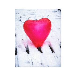 The Heart Crosses Any Bridge Canvas Print