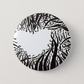 The Heart In The Tentacles 2 Inch Round Button