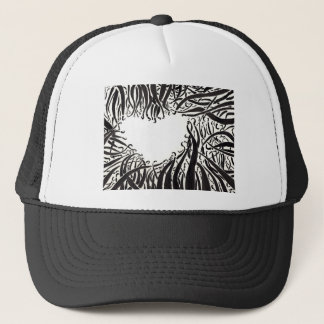 The Heart In The Tentacles Trucker Hat