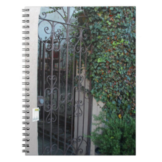 The Heart Lingers Spiral Notebooks