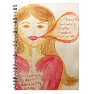 The Heart Needs Healing Spiral Notebook