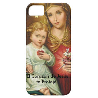 The Heart of Jesus you Proteje. iPhone 5 Cases