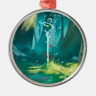 The Heart Of The Forest Metal Ornament