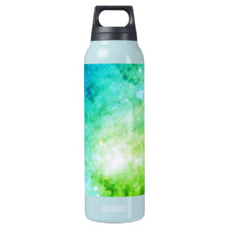 The Heart of the Galaxy M82 in Visible Light green Insulated Water Bottle