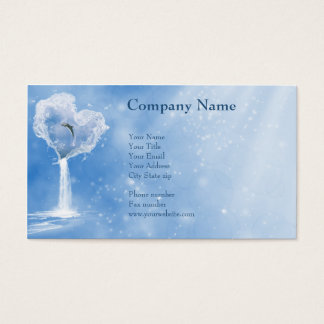 The heart of the ocean Business Cards