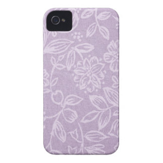 The Heather on the Hill Lavender Patterned iPhone 4 Case-Mate Case