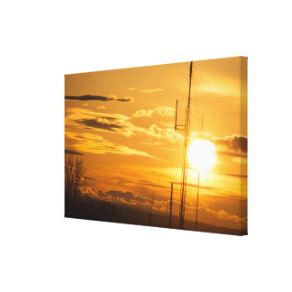 The Heavens Above 39 X 25 Wrapped Canvas Print