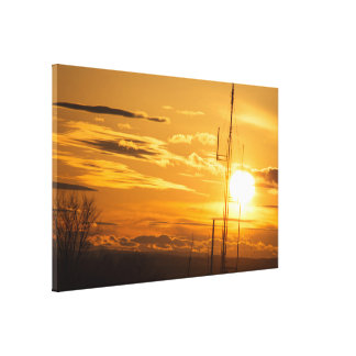 THE HEAVENS ABOVE 60 X 39 WRAPPED CANVAS PRINT