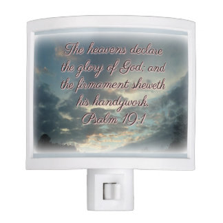 The Heavens Declare His Glory Nite Lite