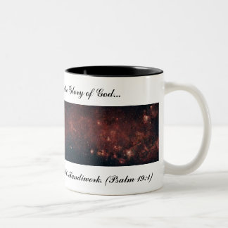 The Heavens Declare the Glory of God... Two-Tone Coffee Mug