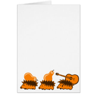 The Hedgehog Gang Card