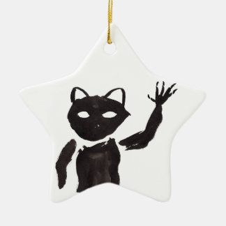 The Heebie-Jeebie Ceramic Ornament