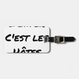 The HELL, They IS the HOSTS - Word games Luggage Tag