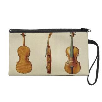 The Hellier violin made by Antonio Stradivarius (c Wristlet Purses