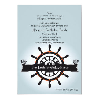 The Helm Nautical Invitation