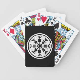 The Helm Of Awe Vikings Bicycle Playing Cards