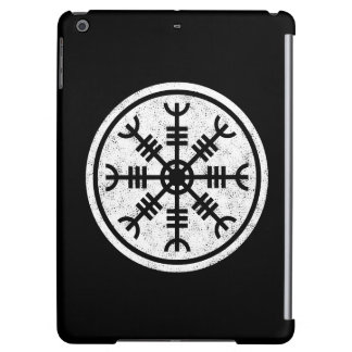 The Helm Of Awe Vikings Cover For iPad Air