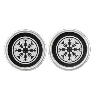 The Helm Of Awe Vikings Cuff Links