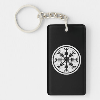 The Helm Of Awe Vikings Keychain