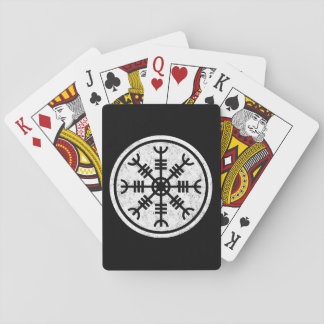 The Helm Of Awe Vikings Playing Cards