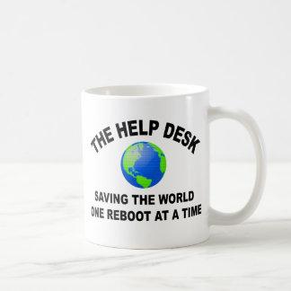 The Help Desk - Saving The World Mugs