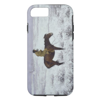 The Herd Boy by Frederic Remington iPhone 8/7 Case