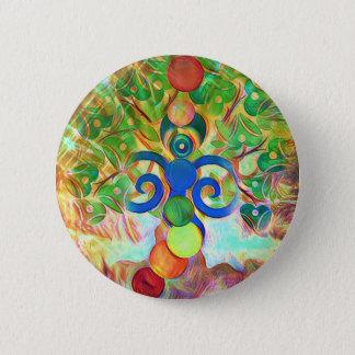 The Hermit 2 Inch Round Button