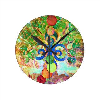The Hermit Round Clock