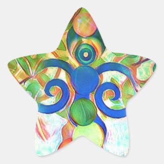 The Hermit Star Sticker