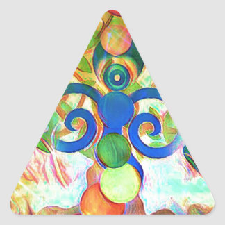 The Hermit Triangle Sticker