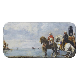 The Heron Hunt by Eugene Fromentin 1865 Case For iPhone 5/5S