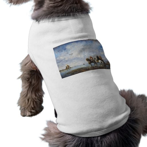 The Heron Hunt by Eugene Fromentin 1865 Pet Tshirt