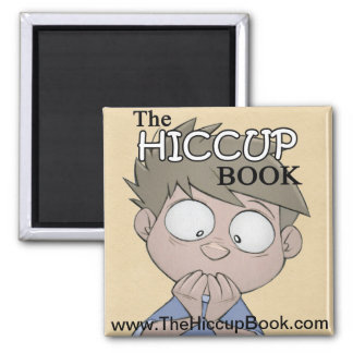 The Hiccup Book - magnet
