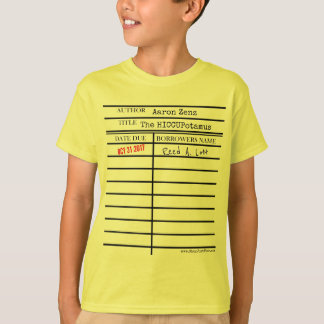 """""""The HICCUPatamus"""" Library Card - Customize it! T-Shirt"""