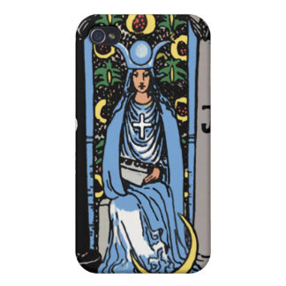 """The Hig Priestess"" Tarot Card iPhone4 Case iPhone 4/4S Cover"