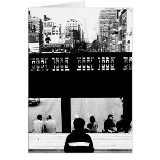 The High Line - New York City Card